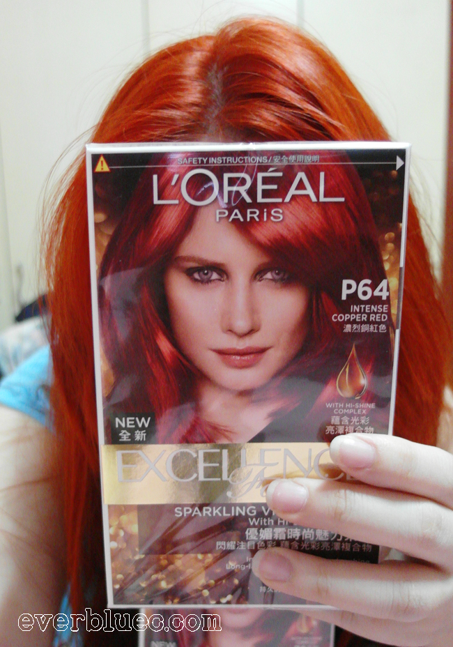 Everbluec Loreal Paris New Excellence Fashion Hair Dye In
