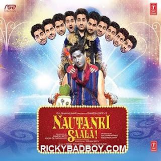 Sapna Mera Toota Lyrics - Nautanki Saala - Rahat Fateh Ali Khan