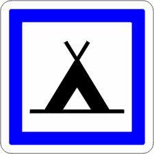 foto do logo de camping