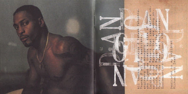D'Angelo : Brown Sugarの中ジャケ