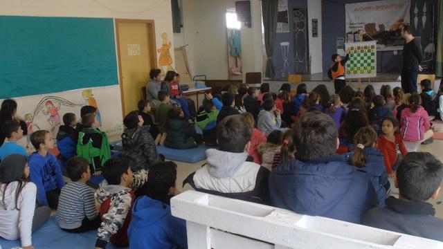 Το Σκακιστικό Τμήμα του Εθνικού στο 5ο Δημοτικό Σχολείο Αλεξανδρούπολης