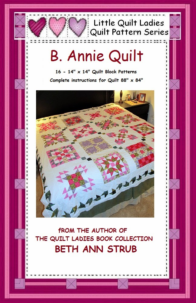 B. Annie Quilt Pattern Book with 16 quilt patterns and all instructions