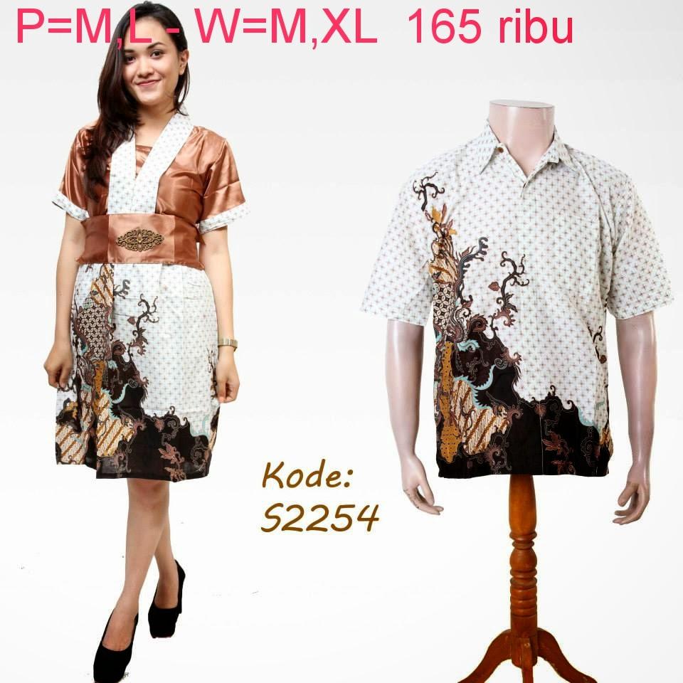 Baju Batik Pasangan Online