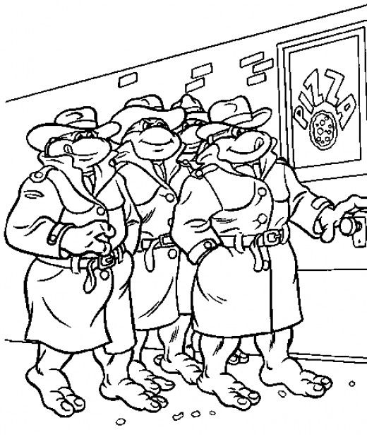 Fun coloring pages teenage mutant ninja turtles coloring for Teenage mutant ninja coloring pages