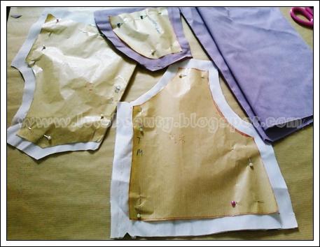 tutorial cara mudah membuat pola little girls pola baju dulu baru ...