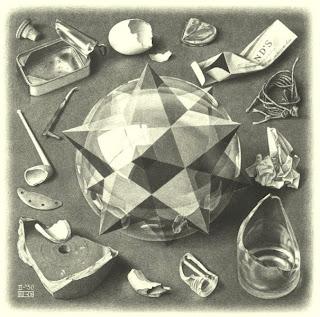 M. C. Escher, Estrela, Caos