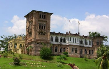 Kellie�s Castle di Batu Gajah, Malaysia