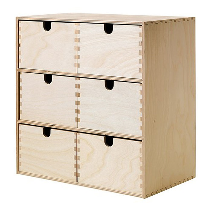 Image Result For Ikea Wooden Storage Box With Drawers