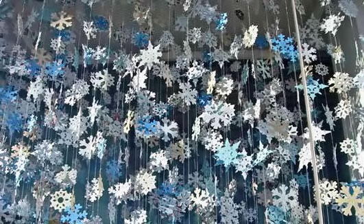 decoration-with-snowflakes