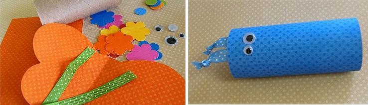 Borboletas com rolo de papel higiênico | Pra Gente Miúda