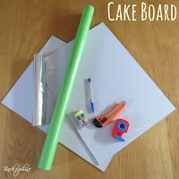 DIY Cake Board