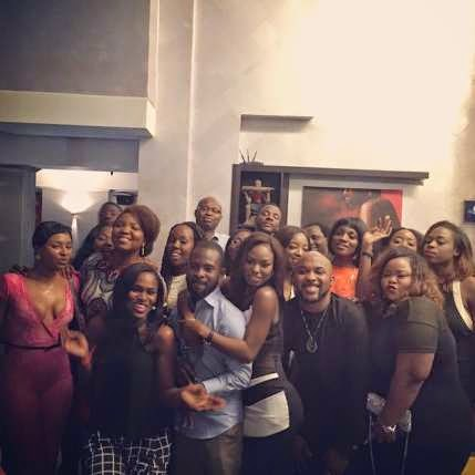 EME Singer Niyola Hosts Friends at Birthday Dinner