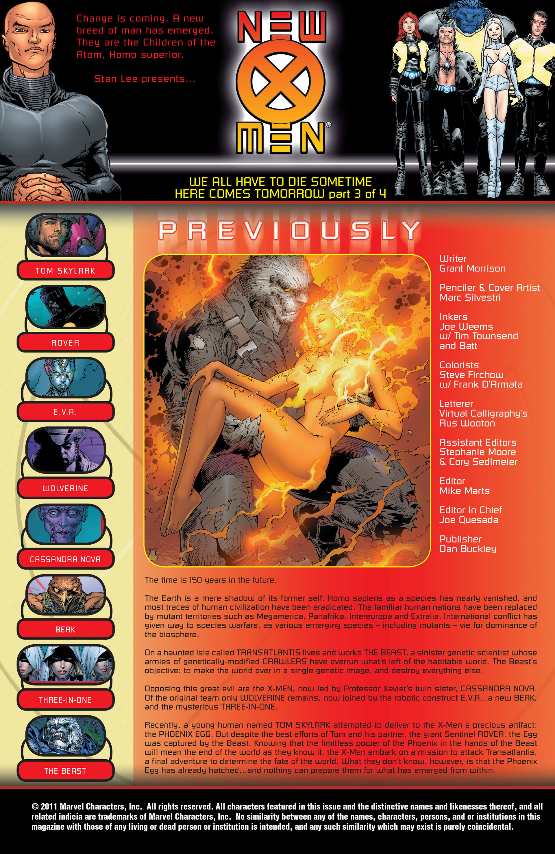 Read online New X-Men (2001) comic -  Issue #153 - 2