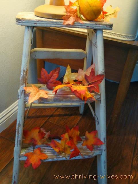 vintage autumn fall decor