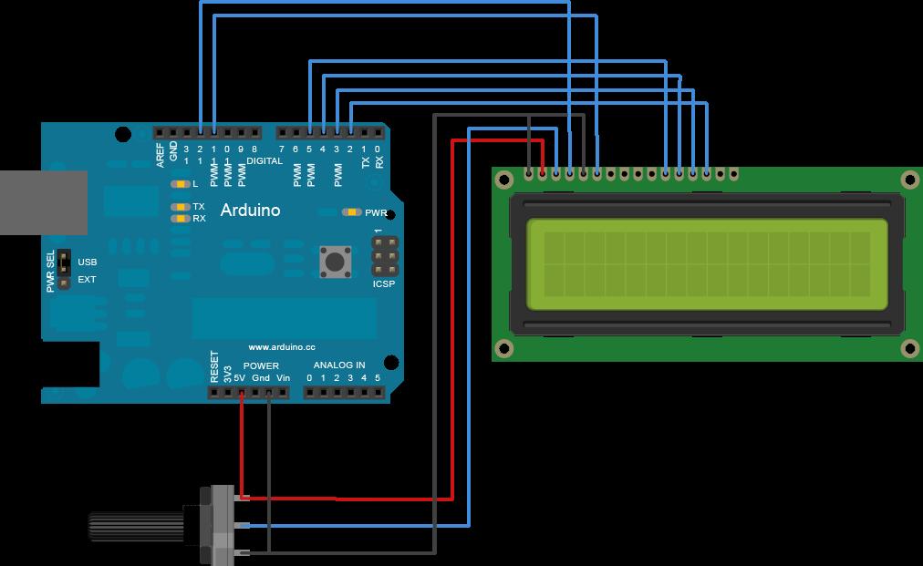Membuat Jam Digital Arduino (Tanpa Hardware RTC)  54c8d373f0