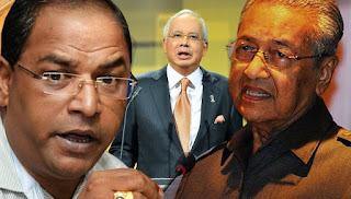 Ramesh Rao lapor polis Tun M fitnah Najib