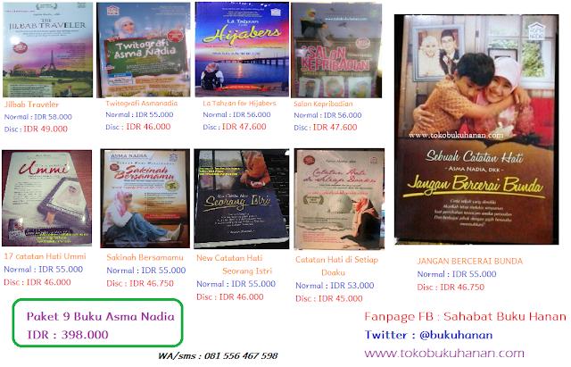 Buku-buku karangan Asma Nadia