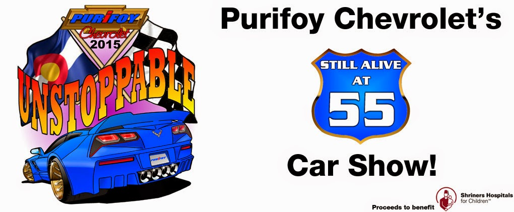 Purifoy Chevrolet Alive at 55 Car Show