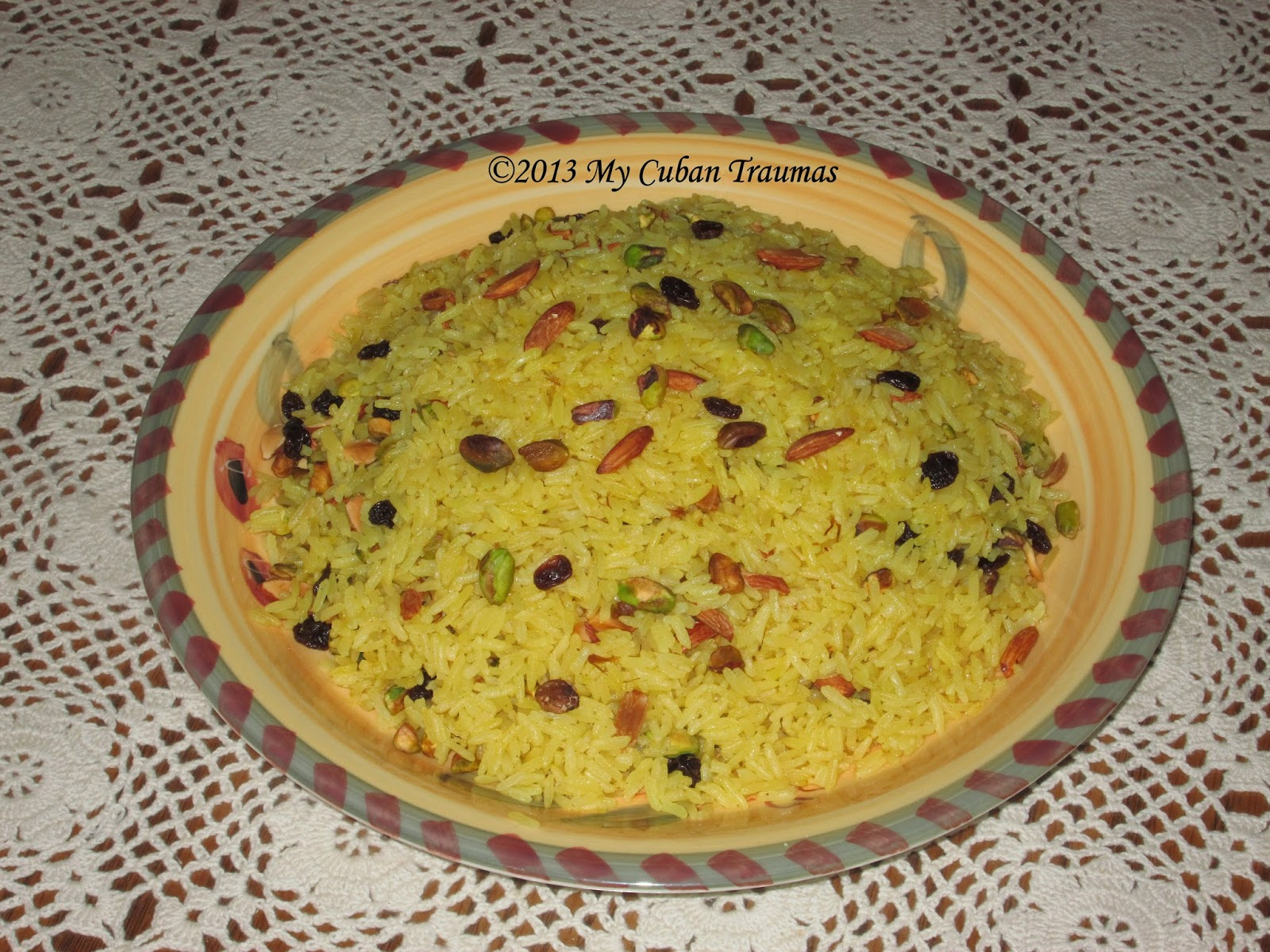 My cuban traumas persian chicken kabobs saffron for Azafran cuban cuisine