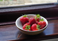 The first strawberries of the year