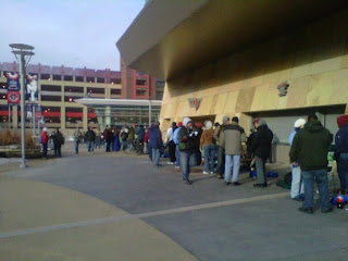 Ticket Sales at Target Field