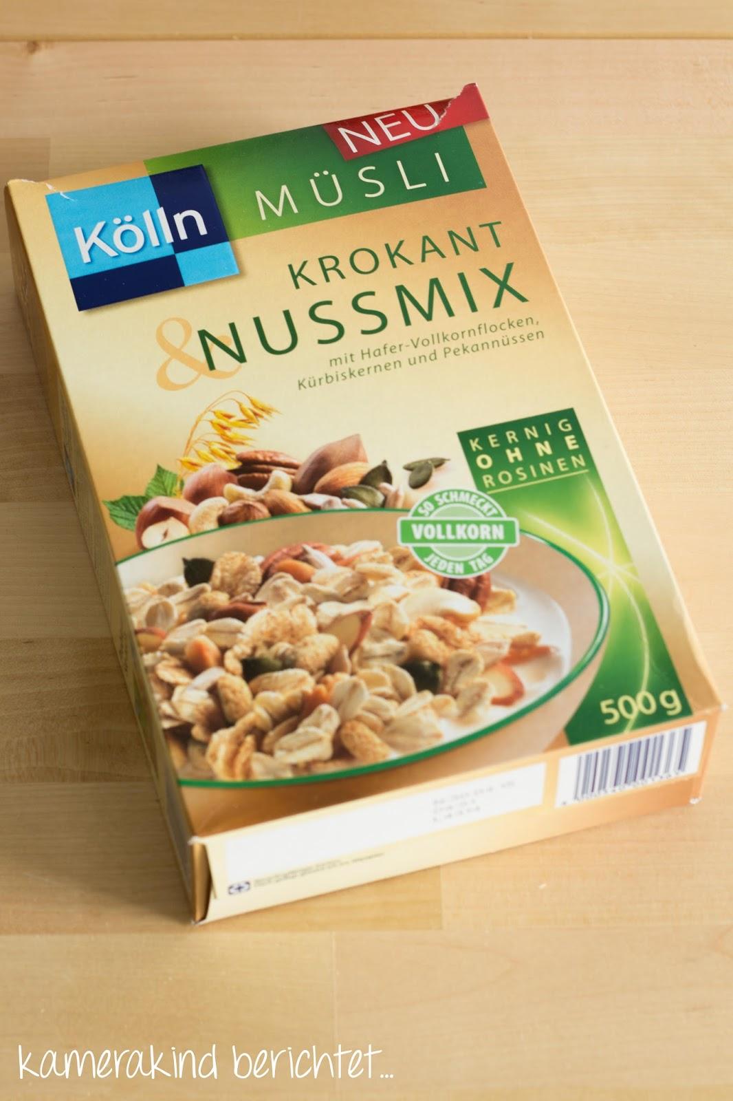 Kölln Müsli Krokant&Nussmix