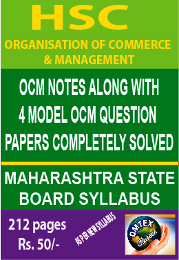 ORGANISATION OF COMMERCE & MANAGEMENT