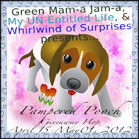 Pampered Pooch Giveaway Button