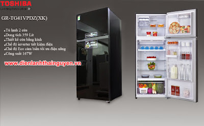 Trung tâm bảo hành tủ lạnh Toshiba tại Thái Nguyên