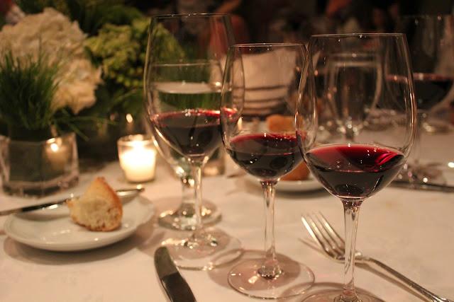 Wine at Grill 23, Boston, Mass.