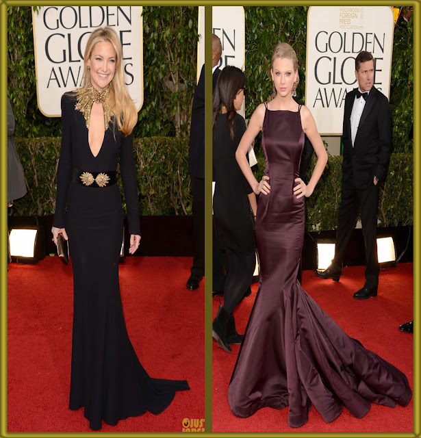 a filha do chefe taylor swift donna karan atelier dress golden globes 2013