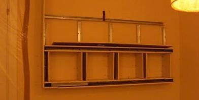 Muebles de pladur aprender hacer bricolaje casero - Como hacer un mueble de salon ...