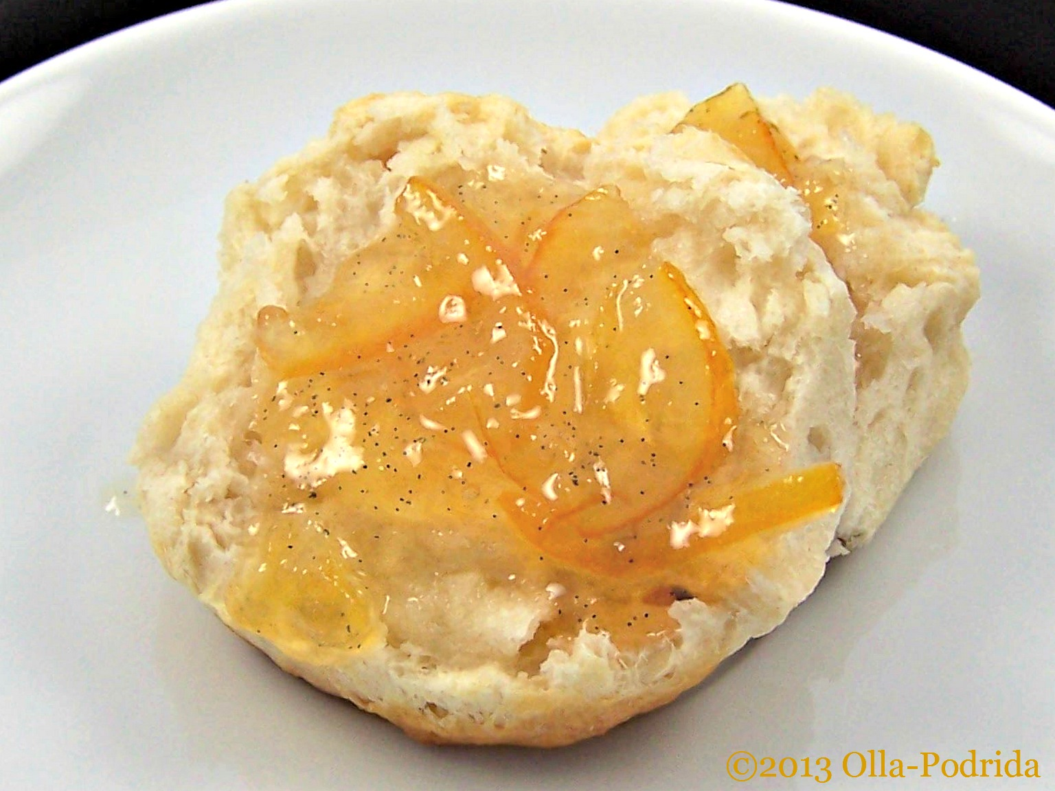 Olla-Podrida: Meyer Lemon and Vanilla Bean Marmalade