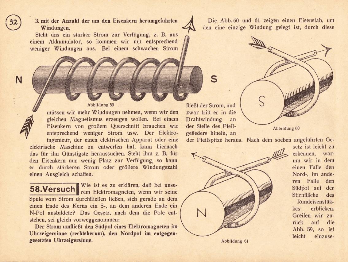 Leuchtdiödchen und Kondensator