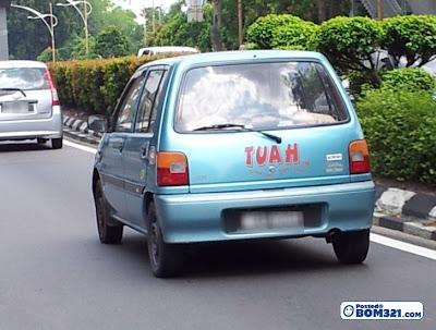 Spyspot  Perodua Tuah Yang Berjaya Dirakam