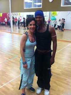 ZUMBA en Segovia Master class en Circulo de Baile con Daví Santos