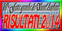 RISULTATI DELLE 5 REGATE FESTA GRANDA DE SANT'ANDREA 2014