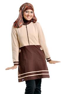 blus muslim dan kaos ukuran besar