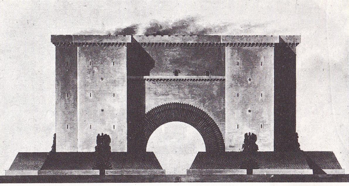 Puerta De Aix Marsella Elementos Decorativos