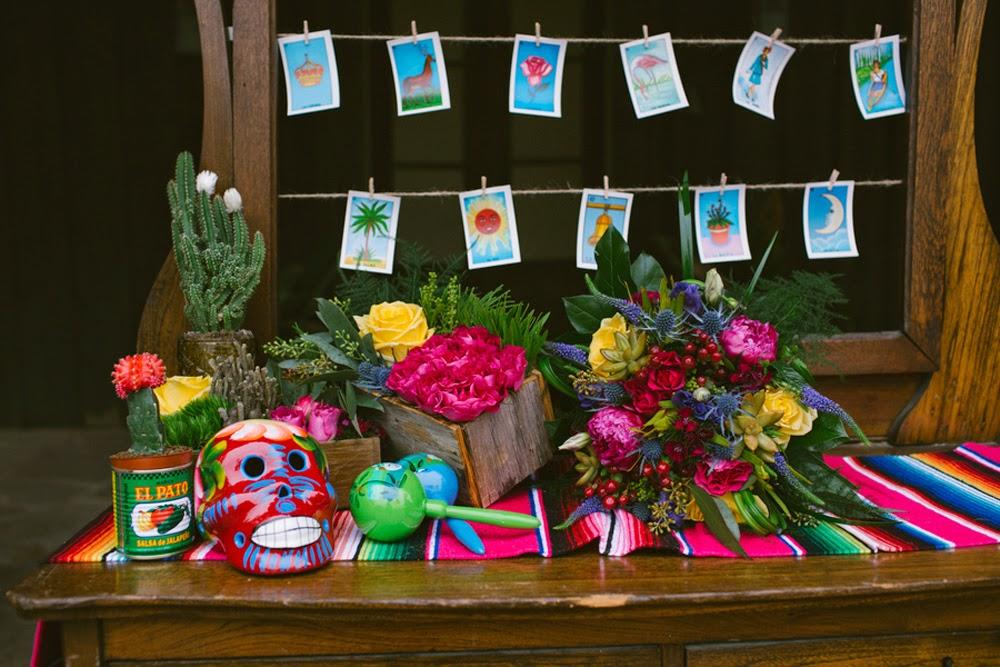 mexican loteria cards skull maracas