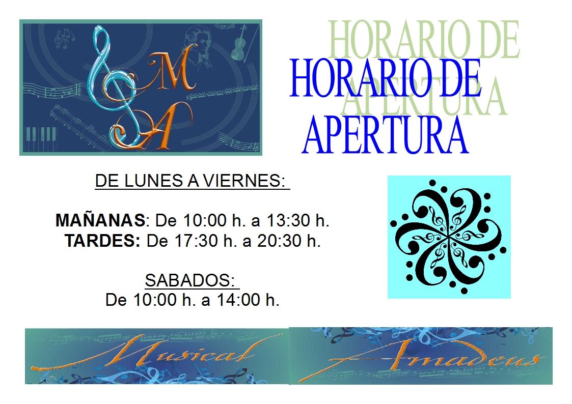 Musiqueando horario de apertura for Hora de apertura castorama