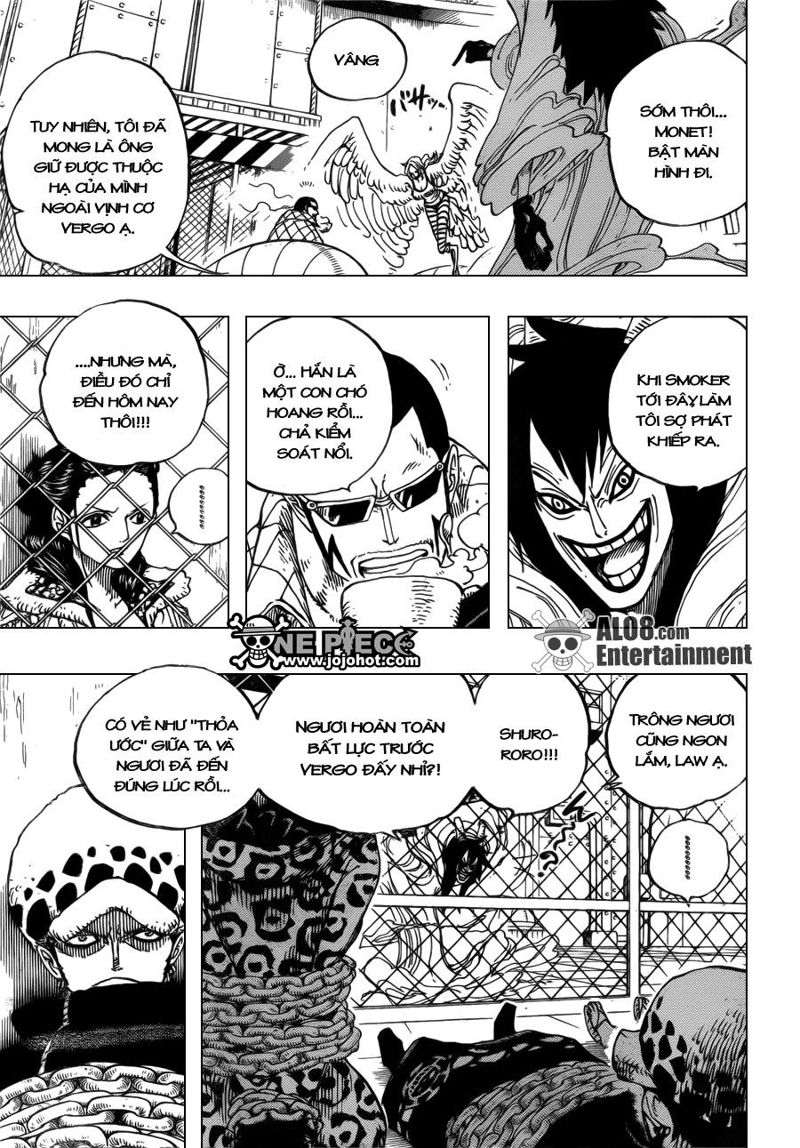 """One Piece Chapter 675: Và nó được gọi là """"Shi-no-Kuni"""" 007"""
