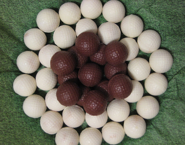 Golf Ball Cheesecake Balls