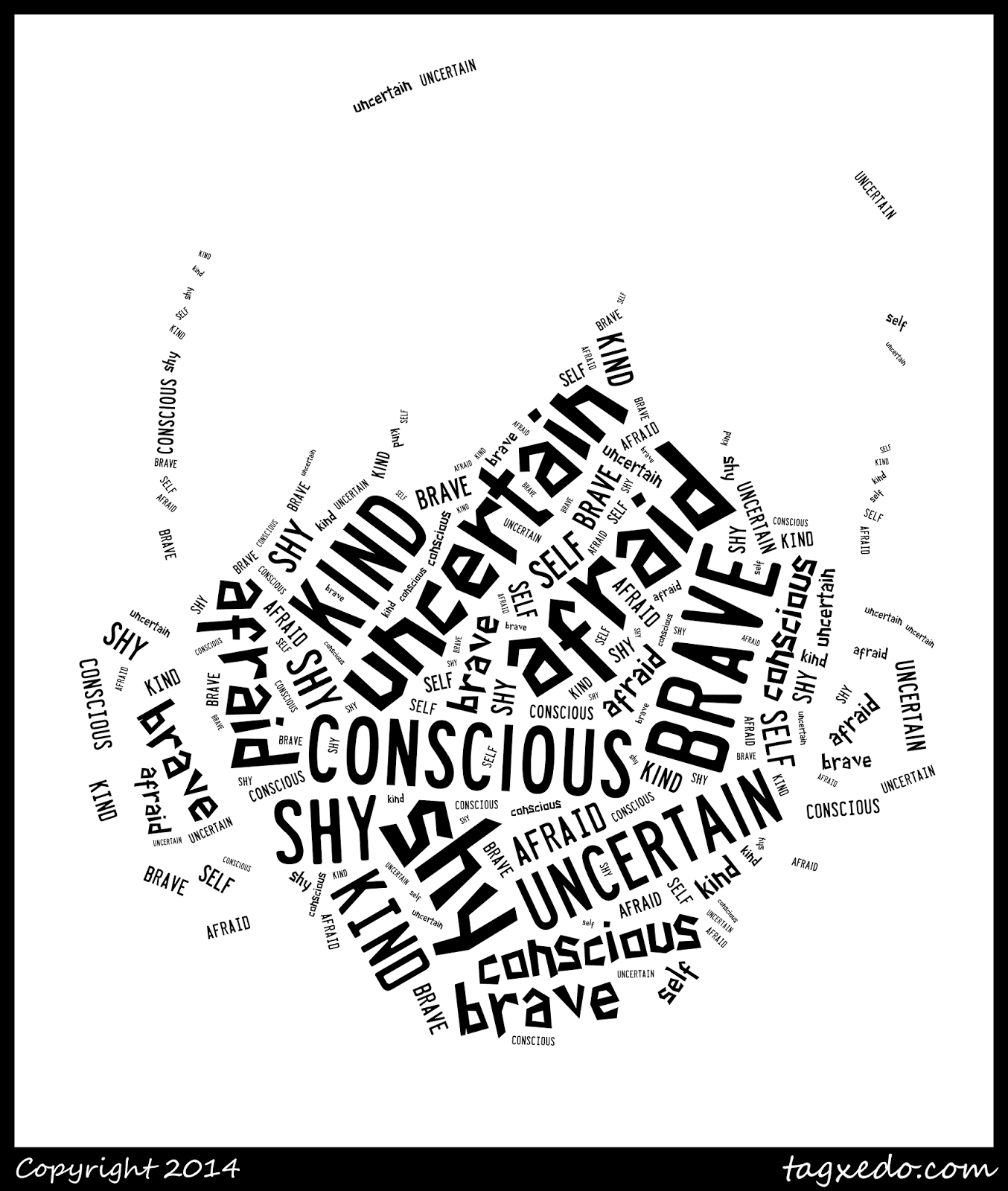 Wonder Character Trait Image using Tagxedo @ http://teachingisagift.blogspot.ca