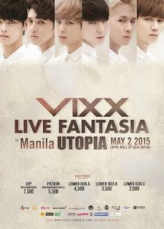 VIXX Live in Manila