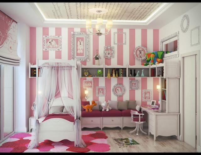 Habitaciones de chicas lindas decoracion de interiores for Decoracion de interiores para ninas