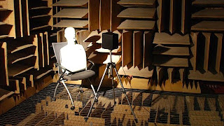 Sound dead room in wisconsin wall baffles 99% sound proof