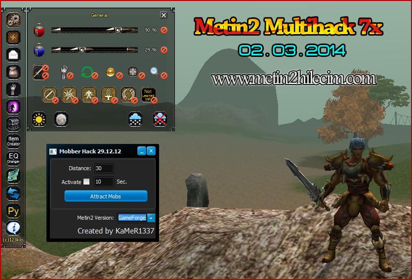 Metin2 m2k-mod Multihack Hilesi