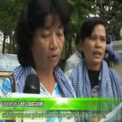 [ News ] Former BKL Residents Go On Protesting for Proper Compensations - News, RFA Videos
