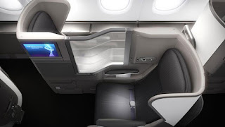 The Club World Cabin in BA's forthcoming A380 aircraft